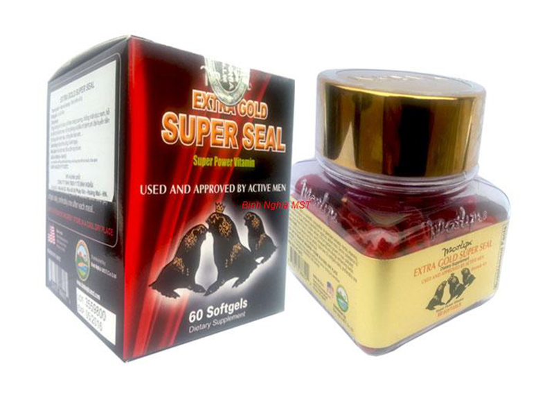TPCN: Extra Gold Super Seal - Vitamins and supplements