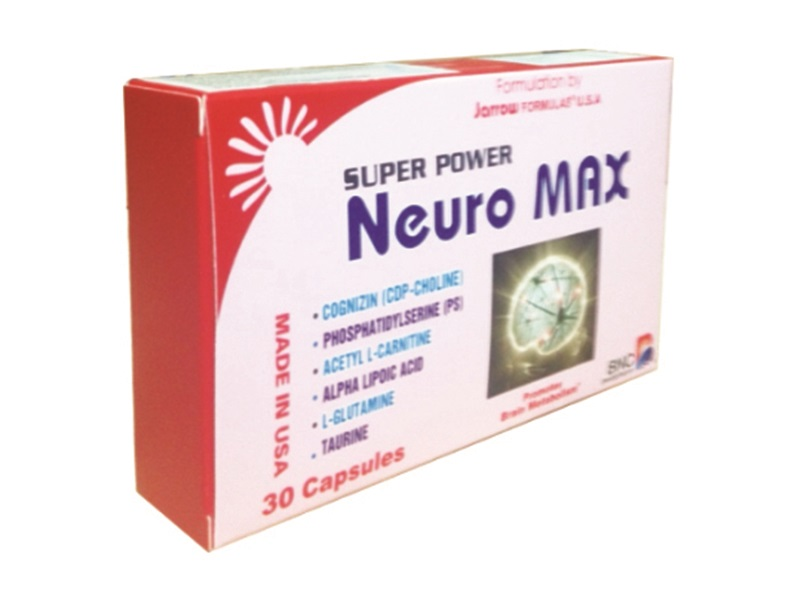 TPCN: Super Power Neuro Max - Enhances the metabolism of brain cells