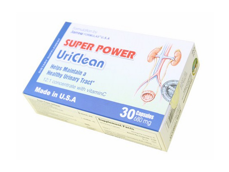 TPCN: Super Power UriClean - Maintaining Urological Health