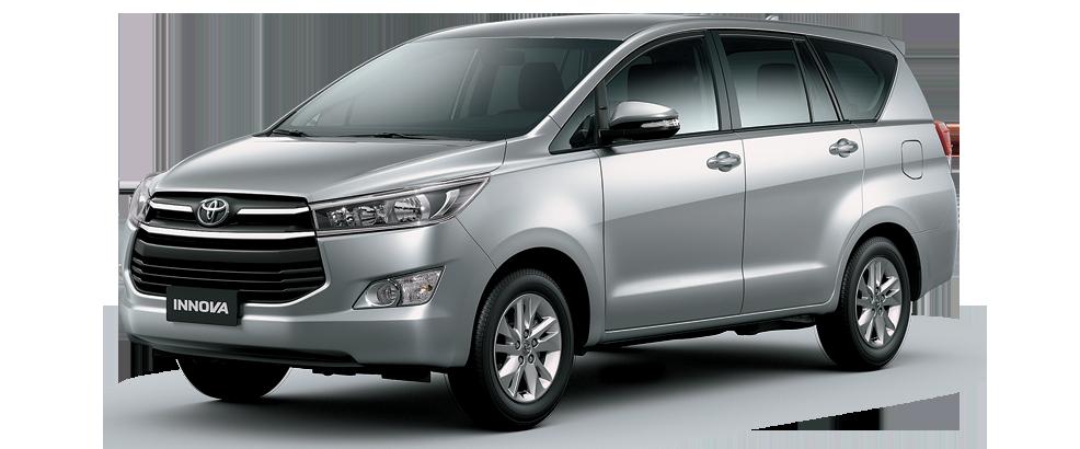 Toyota innova màu bạc