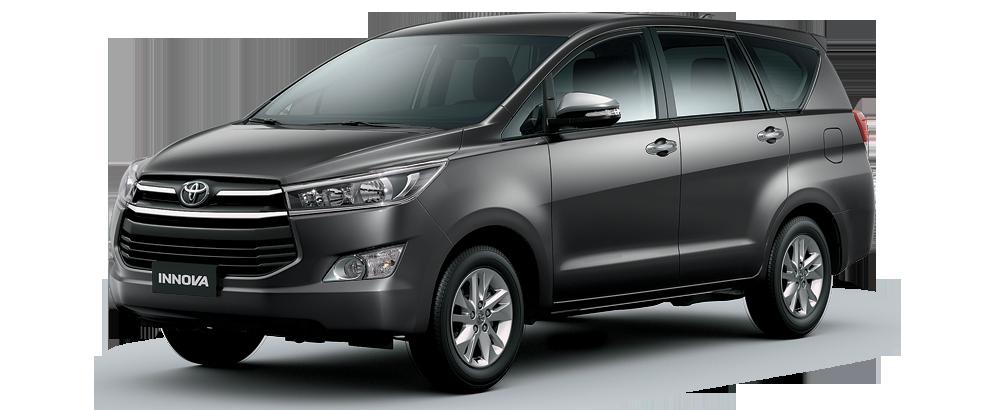 Toyota innova màu ghi xám