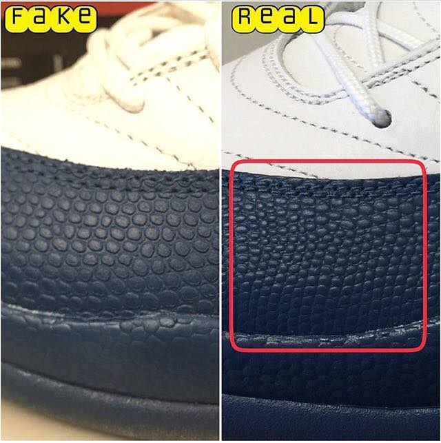 the latest 1e77d 2742a Air Jordan 12 French Blue - Phân Biệt Fake Real