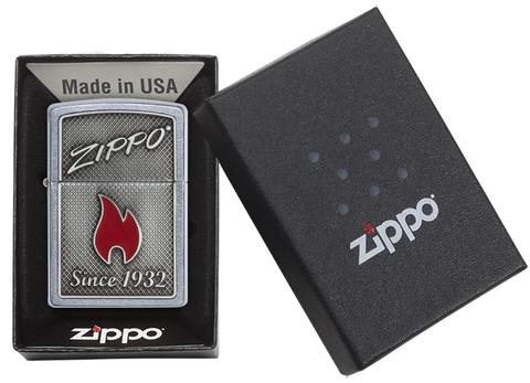Zippo and Flame 29650-op-noi