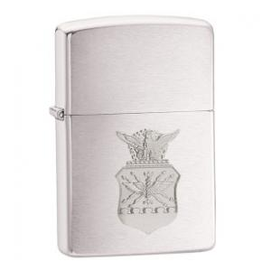 Zippo US Air Force Crest Emblem Brushed Chrome xách tay