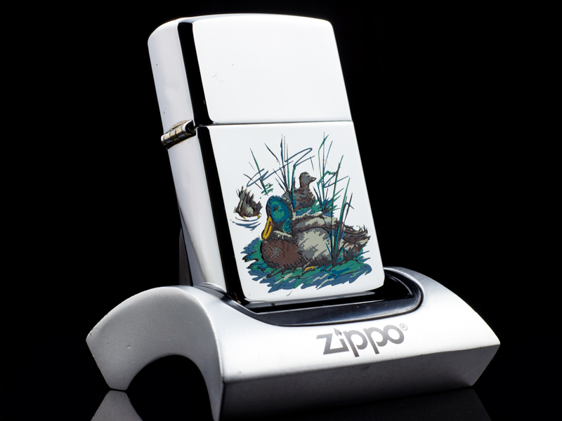 zippo-la-ma-canada-duck-and-lake-XIV-1998