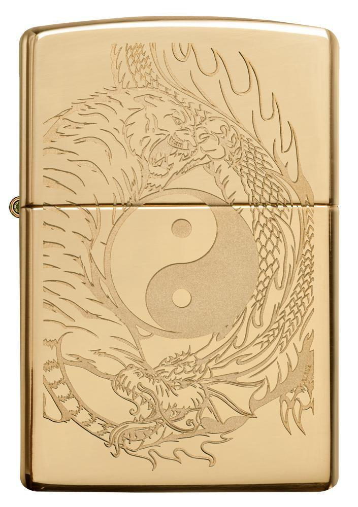 Zippo Tiger and Dragon Design 49024