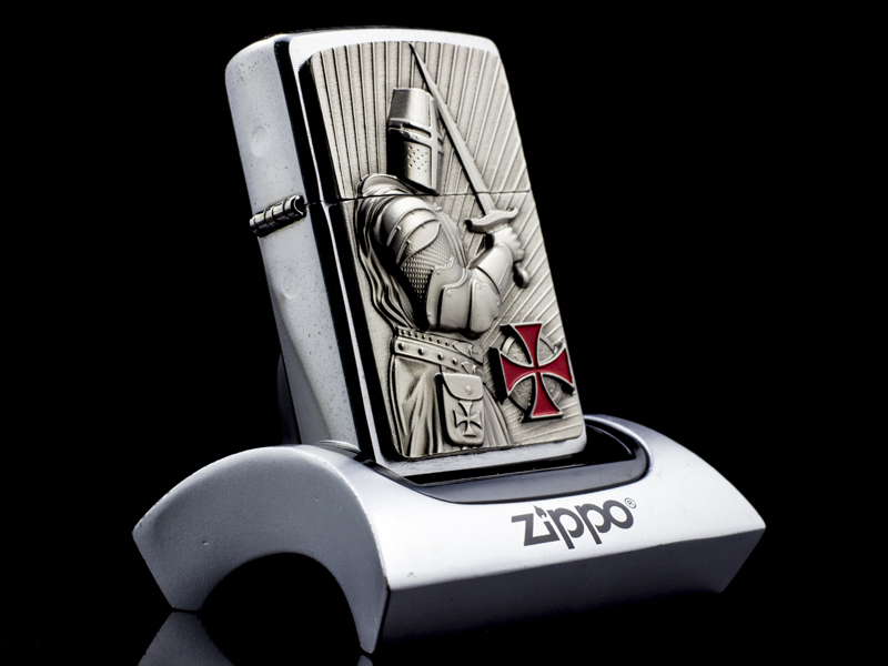 Zippo-templer-crusader-limited-edition-2013-la