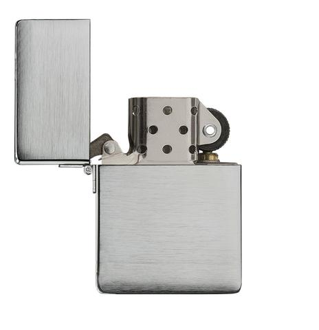 Zippo 1935 Replica Brushed Chrome quà tặng sếp