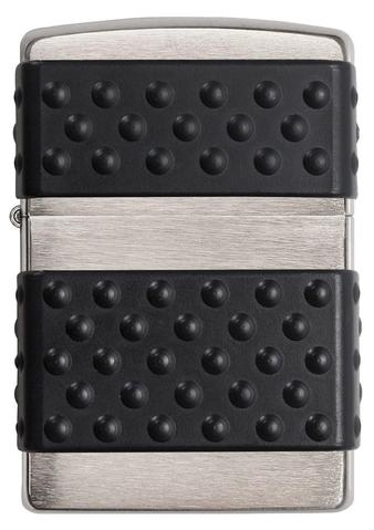 Zippo Black Zip Guard Brushed Chrome độc đáo lạ lẫm