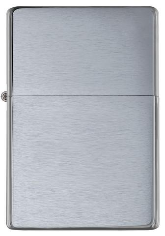 Zippo Vintage Brushed Chrome (No slashes) cao cấp