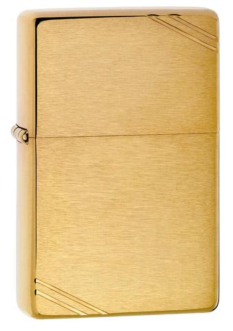 Zippo Vintage Brushed Brass cao cấp