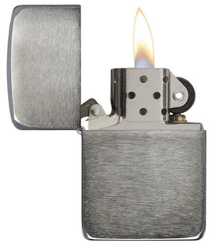 Zippo 1941 Replica Black Ice (Dark Chrome) độc đáo