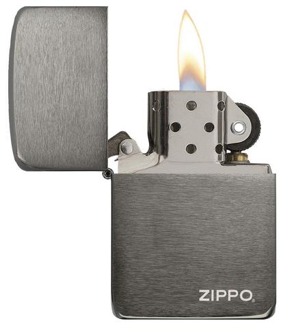 Zippo Replica 1941 Black Ice with Logo cao cấp uy tín chấ tluowjng cao