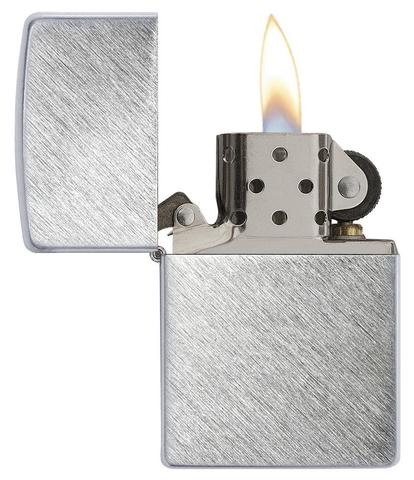Zippo Herringbone Sweep Brushed Chrome zippostore.vn no1