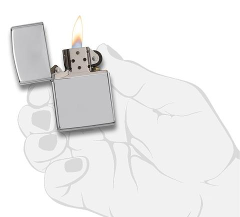 Zippo High Polished Chrome best seller bán chay nhất