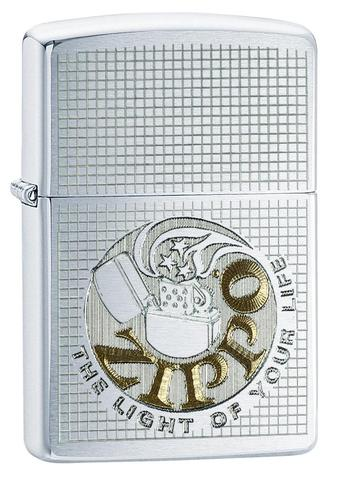 Zippo The Light of Your Life linen wave