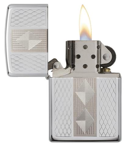 Zippo Diamond Grill High Polish Chrome zippostore.vn