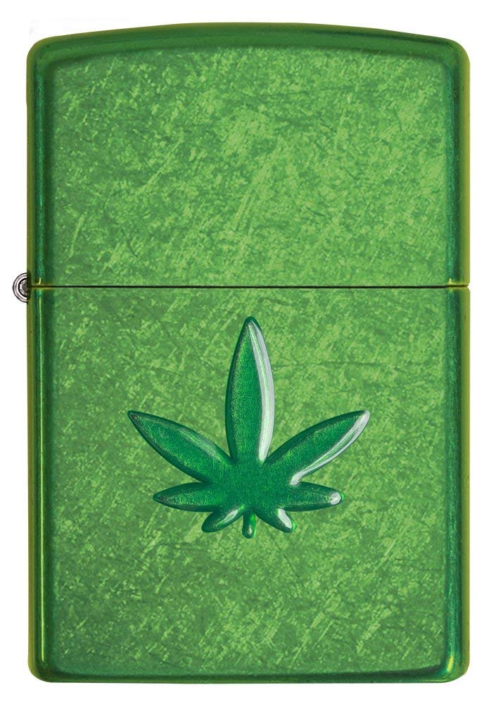 Zippo Leaf Design Pocket Lighters 29662 độc đáo