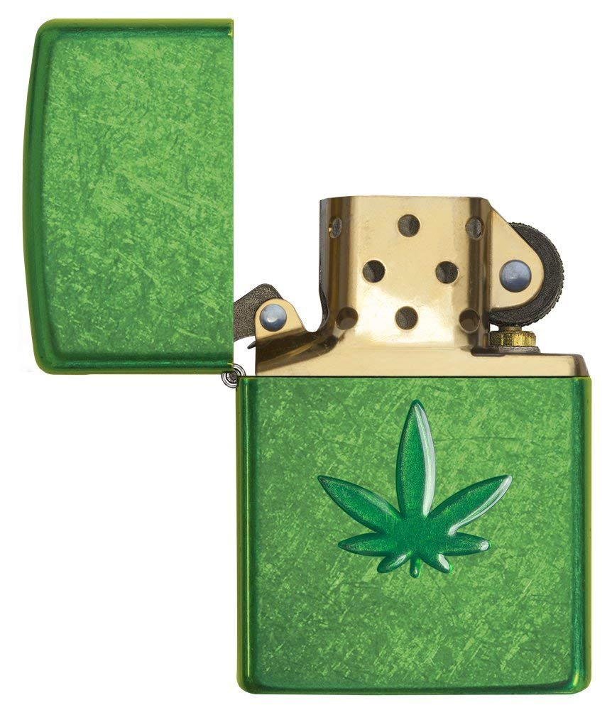 Zippo Leaf Design Pocket Lighters 29662 quà tặng độc đáo