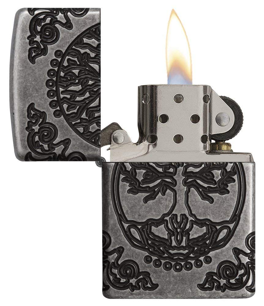 Zippo Armor Tree of Life Design Pocket Lighter 29670 đẹp bền rẻ đẹp