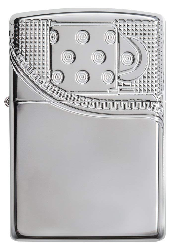 Zippo Armor Deep Carve Lighters 29674 nhập khẩu