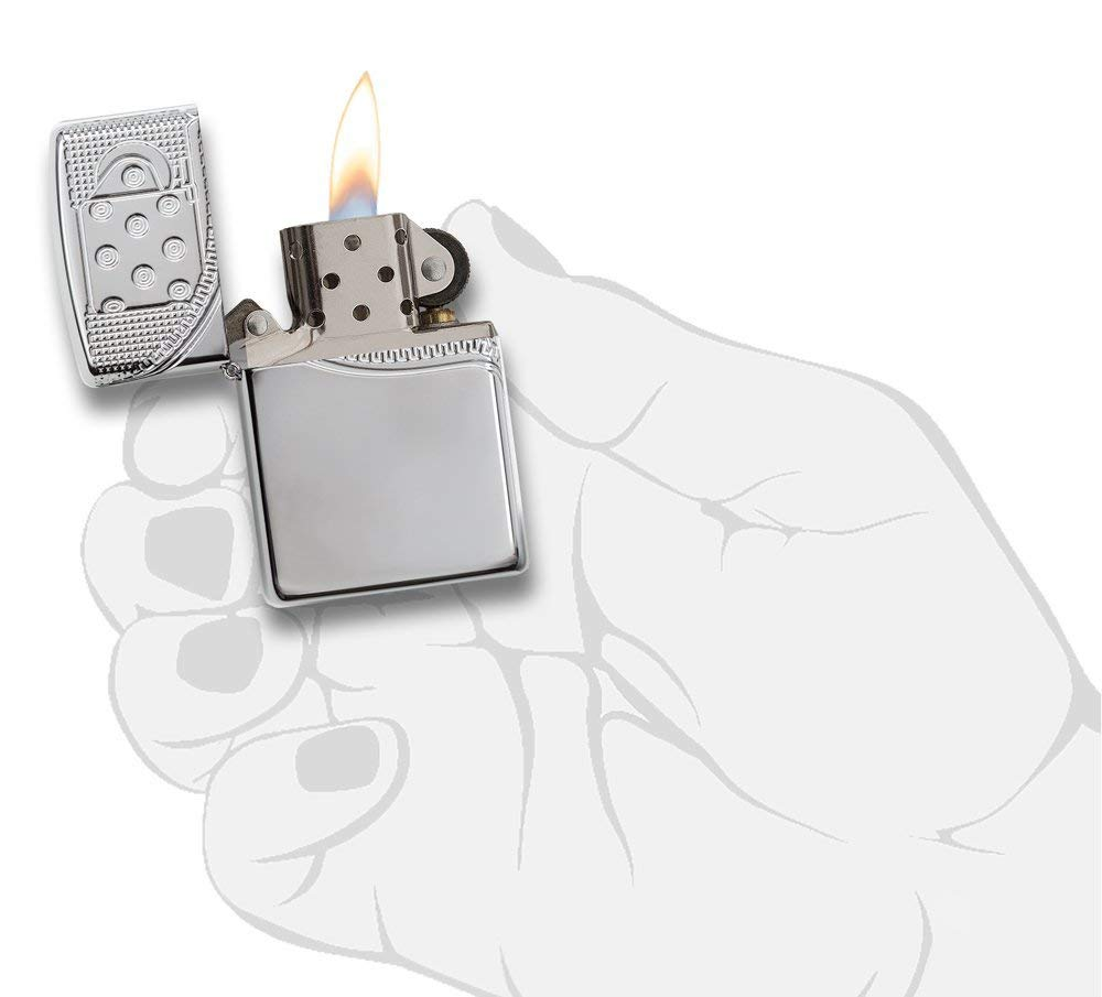 Zippo Armor Deep Carve Lighters 29674 catalog 2018