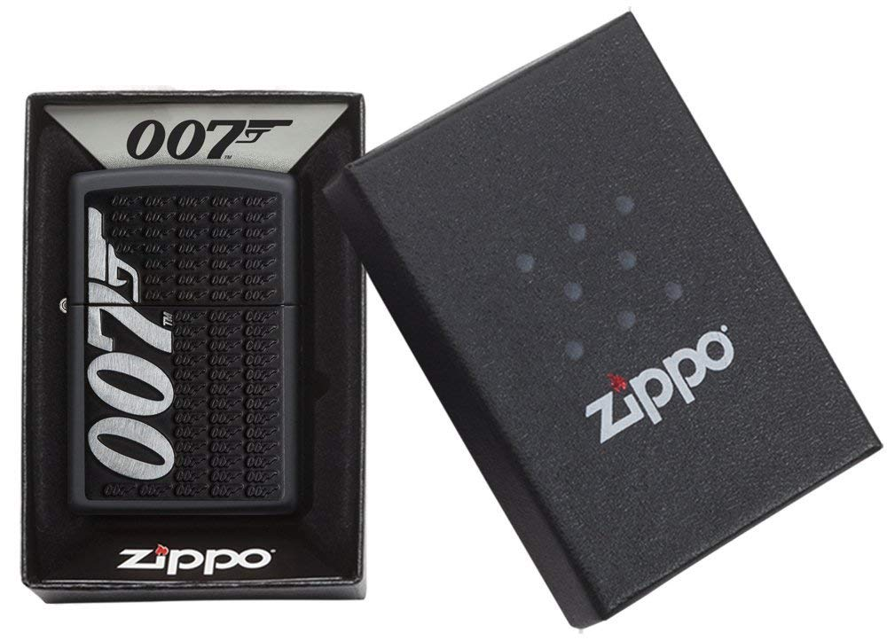Zippo James Bond Lighters 29718 món quà ý nghĩa