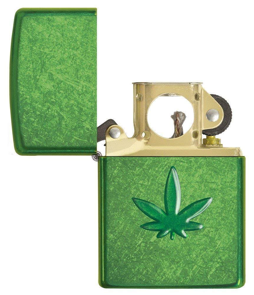 Zippo Leaf Design Pocket Lighters 29673 uy tín
