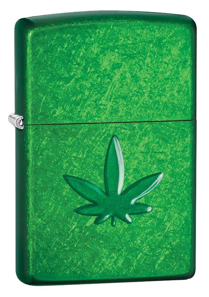 Zippo Leaf Design Pocket Lighters 29673