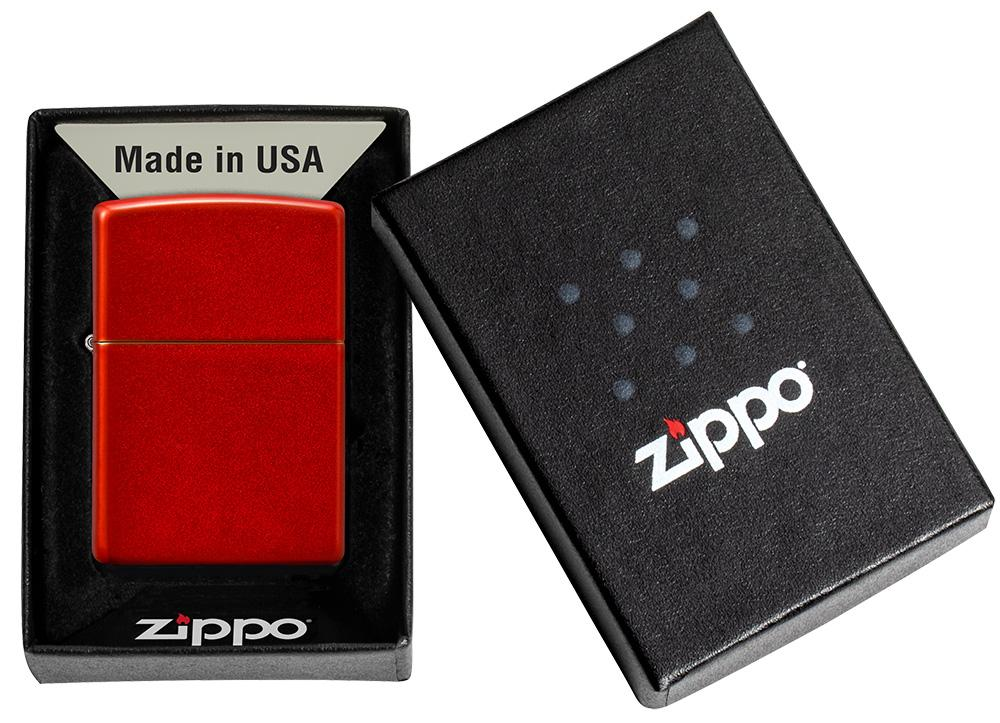 may-lua-zippo-classic-metallic-red-49475-son-tinh-dien-mau-do-anh-kim