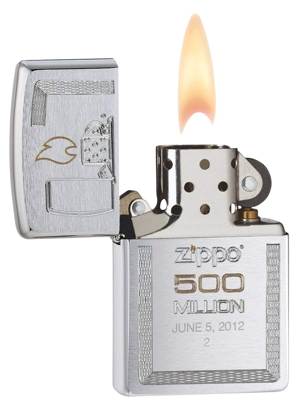 Zippo Limited Edition Gift Set 500 Million Zippo Replica Edition Brushed Chrome giới hạn quý hiếm