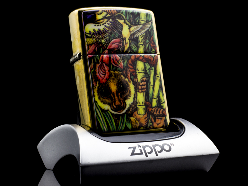 Zippo-la-ma-COTY-MYSTERY_OF_THE-JUNGLE-XI-1995