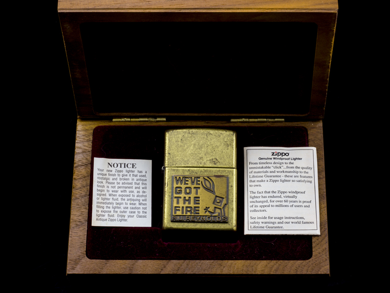 Zippo-la-ma-we've-got-the-fire-XVI-2000