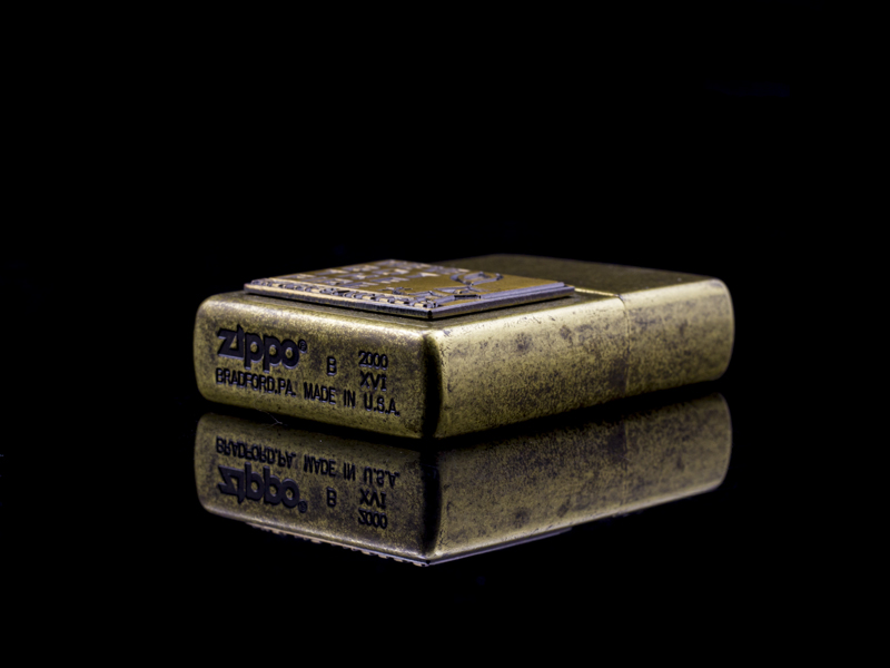 Zippo-la-ma-we've-got-the-fire-XVI-2000-co
