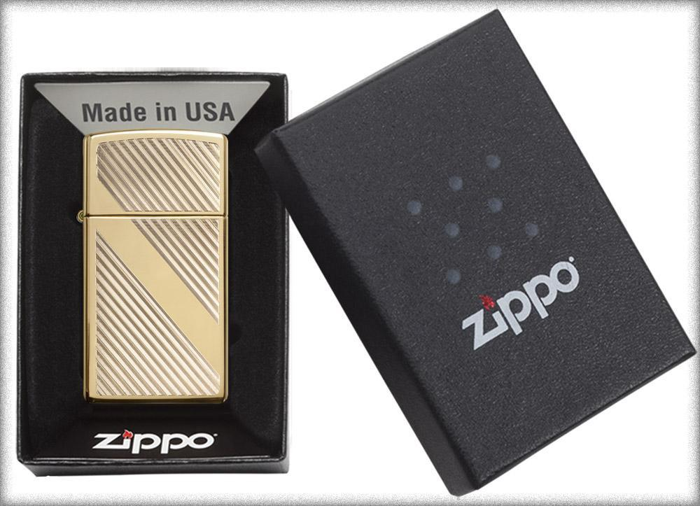 Zippo-Lines-Design-Slim-Brass-29724-hang-chinh-hang-cao-cap