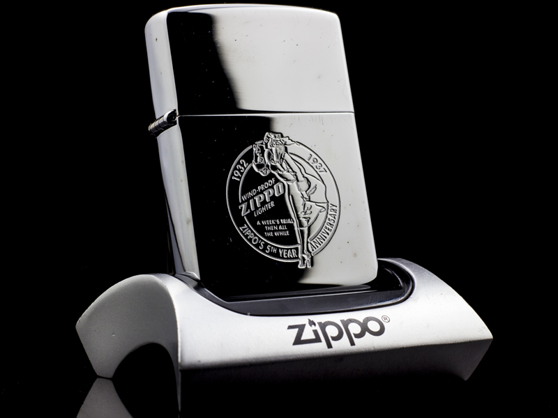 Zippo-Anniversary-Series-1932-1992-Collector's-Edition-chinh-hang