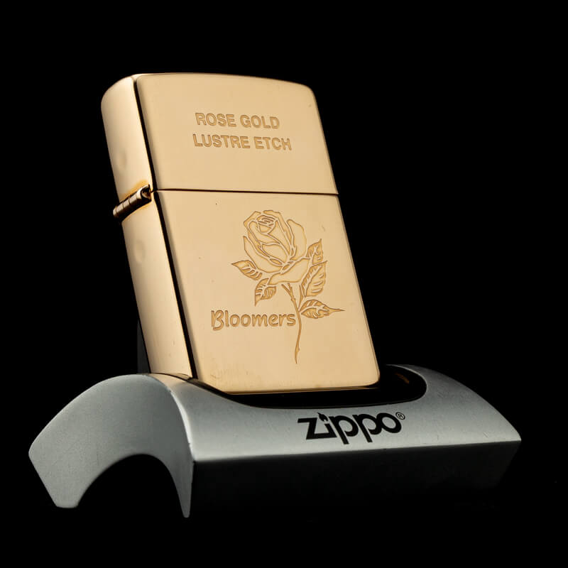bat-lua-zippo-rose-gold-lustre-etch-bloomers-XIV-1998-ma-vang-hong-hiem