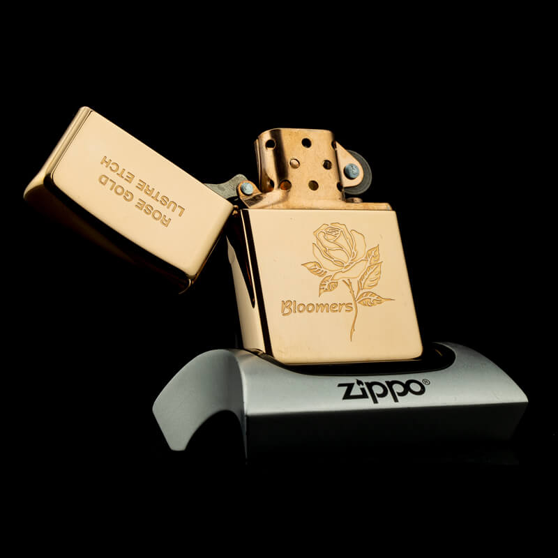 hot-quet-zippo-rose-gold-lustre-etch-bloomers-XIV-1998-ma-vang-hong-hiem