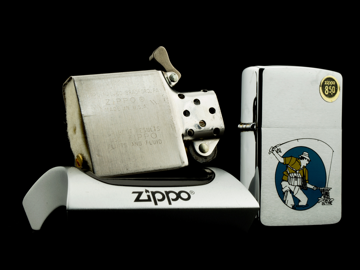 bat-lua-zippo-1985-fishing-can-thu-cau-ca-chrome-nham-hang-xach-tay-my