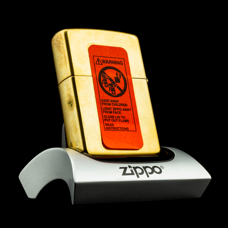 bat-lua-zippo-1995-mysteries-of-the-forest-solid-brass-bi-an-rung-xanh-coty