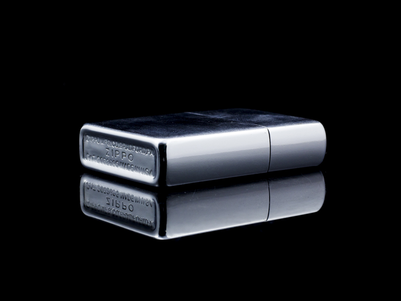Zippo-co-brushed-chrome-47-49-US-USA-hiem