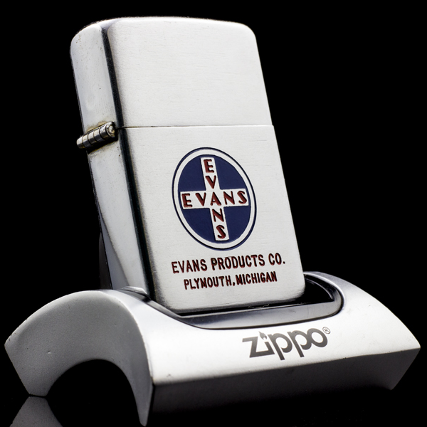 Zippo-co-evans-Brushed-Chrome-47-49-xach-tay
