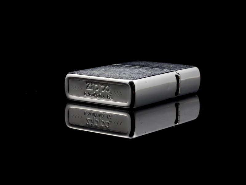 Zippo-co-7-gach-brushed-chrome-1983