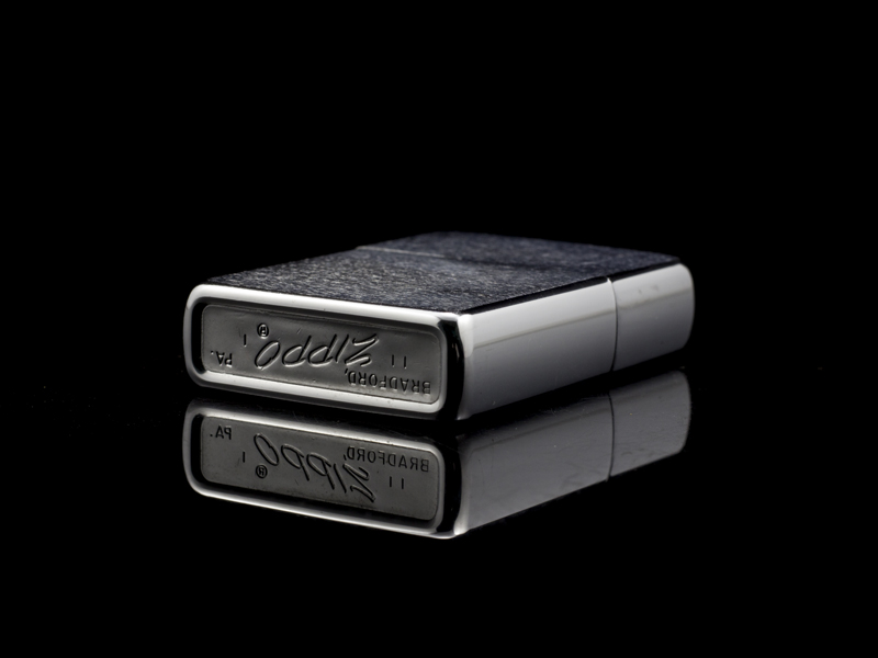 Zippo Cổ Brushed Chrome 1971 3 Gạch Thẳng-chat-luong-cao