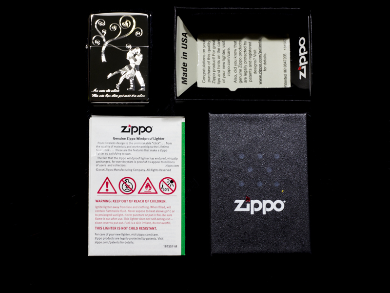 Zippo Together Forever chất lượng cao uy tín