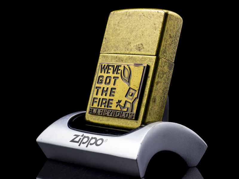 Zippo-la-ma-we've-got-the-fire-XVI-2000-USA-xach-tay