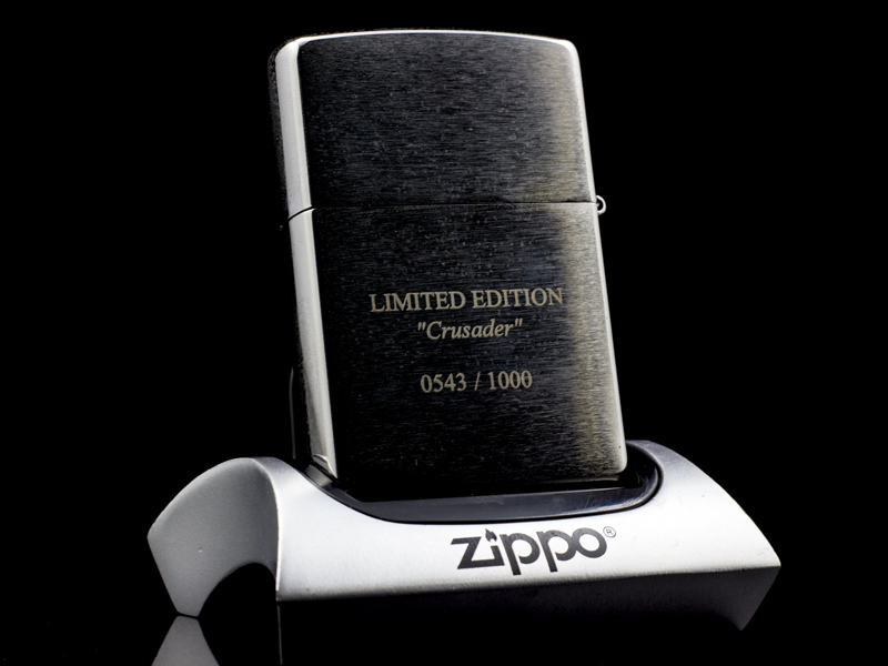 Zippo-templer-crusader-limited-edition-2013-USA