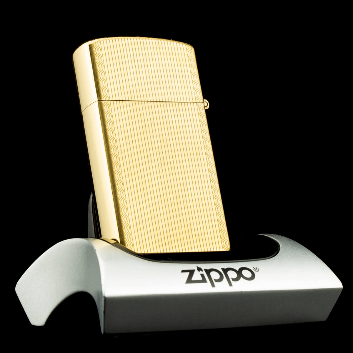 bat-lua-zippo-slim-gold-filled-10k-striped-1970s-phu-vang-hiem-ma-vang