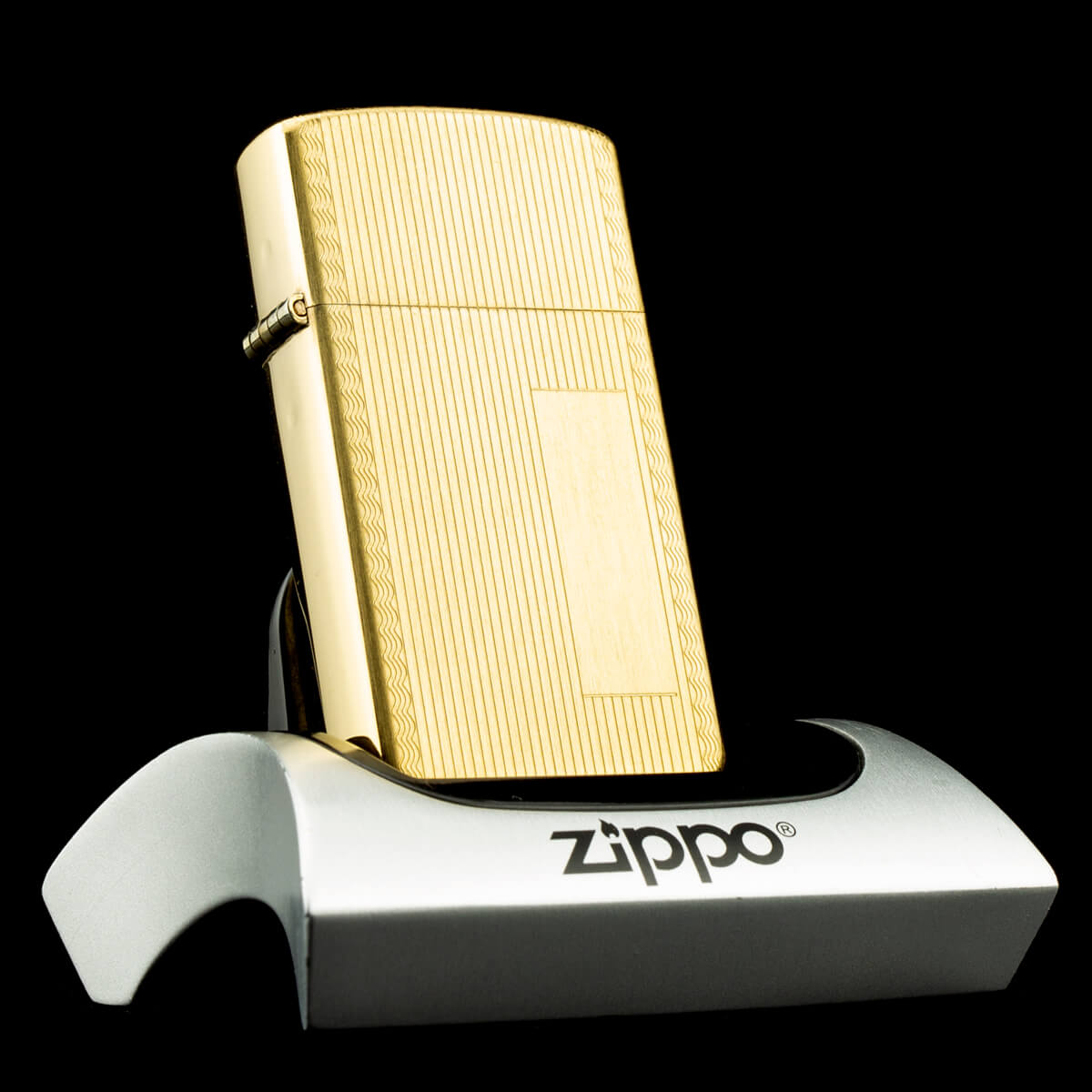 bat-lua-zippo-slim-gold-filled-10k-striped-1970s-phu-vang-hiem