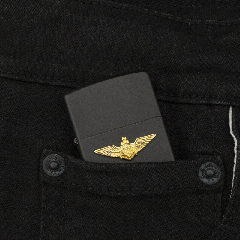 hot-quet-zippo-u-s-air-force-office-emblem-black-matte-1991-vii-huy-hieu-si-quan-khong-quan-hoa-ky